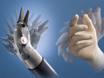 Ελευθερία κινήσεων χειρουργικής κονσόλας DaVinci